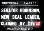 Image of Joseph T Robinson Washington DC USA, 1937, second 1 stock footage video 65675029454