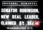 Image of Joseph T Robinson Washington DC USA, 1937, second 7 stock footage video 65675029454