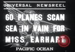 Image of American aircraft carrier South Pacific Ocean, 1937, second 1 stock footage video 65675029457