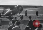 Image of Amelia Earhart record solo flight Oakland California USA, 1935, second 6 stock footage video 65675029459