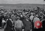Image of Amelia Earhart record solo flight Oakland California USA, 1935, second 10 stock footage video 65675029459