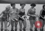 Image of horseshoe pitching Oregon United States USA, 1937, second 11 stock footage video 65675029461