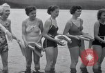 Image of horseshoe pitching Oregon United States USA, 1937, second 12 stock footage video 65675029461