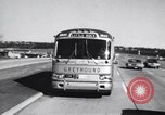 Image of Views from moving bus of Little Rock Arkansas Little Rock Arkansas USA, 1963, second 2 stock footage video 65675029476