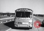 Image of Views from moving bus of Little Rock Arkansas Little Rock Arkansas USA, 1963, second 8 stock footage video 65675029476