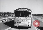 Image of Views from moving bus of Little Rock Arkansas Little Rock Arkansas USA, 1963, second 9 stock footage video 65675029476