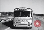 Image of Views from moving bus of Little Rock Arkansas Little Rock Arkansas USA, 1963, second 10 stock footage video 65675029476