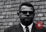 Image of integrationist at Little Rock Central High Little Rock Arkansas USA, 1963, second 2 stock footage video 65675029481