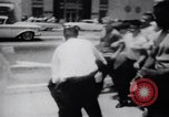 Image of School racial integration street fights Little Rock Arkansas USA, 1957, second 2 stock footage video 65675029483