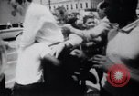 Image of School racial integration street fights Little Rock Arkansas USA, 1957, second 4 stock footage video 65675029483