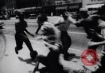 Image of School racial integration street fights Little Rock Arkansas USA, 1957, second 10 stock footage video 65675029483