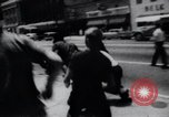 Image of School racial integration street fights Little Rock Arkansas USA, 1957, second 12 stock footage video 65675029483