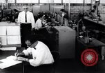 Image of bulb factory Little Rock Arkansas USA, 1963, second 2 stock footage video 65675029487