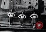 Image of cheer leaders Little Rock Arkansas USA, 1963, second 1 stock footage video 65675029493