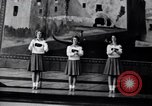 Image of cheer leaders Little Rock Arkansas USA, 1963, second 3 stock footage video 65675029493