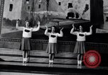 Image of cheer leaders Little Rock Arkansas USA, 1963, second 5 stock footage video 65675029493