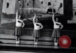 Image of cheer leaders Little Rock Arkansas USA, 1963, second 6 stock footage video 65675029493