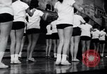 Image of cheer leaders Little Rock Arkansas USA, 1963, second 12 stock footage video 65675029493