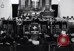 Image of AME church service in Little Rock Little Rock Arkansas USA, 1963, second 2 stock footage video 65675029497