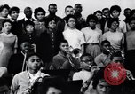 Image of African American youth orchestra and chorus Arkansas United States USA, 1968, second 12 stock footage video 65675029499