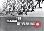 Image of Black Americans Washington DC USA, 1963, second 2 stock footage video 65675029514