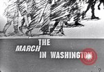 Image of Black Americans Washington DC USA, 1963, second 3 stock footage video 65675029514