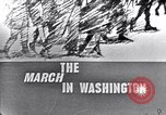 Image of Black Americans Washington DC USA, 1963, second 5 stock footage video 65675029514