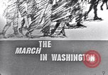 Image of Black Americans Washington DC USA, 1963, second 7 stock footage video 65675029514