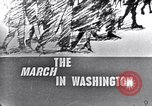 Image of Black Americans Washington DC USA, 1963, second 9 stock footage video 65675029514