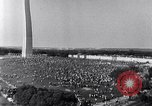 Image of Civil Rights March on Washington Washington DC USA, 1963, second 10 stock footage video 65675029515