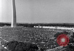 Image of Civil Rights March on Washington Washington DC USA, 1963, second 12 stock footage video 65675029515