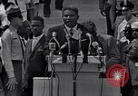 Image of Actor Ossie Davis introducing Burt Lancaster Washington DC USA, 1963, second 2 stock footage video 65675029518