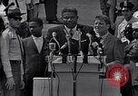 Image of Actor Ossie Davis introducing Burt Lancaster Washington DC, 1963, second 4 stock footage video 65675029518