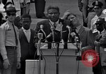 Image of Actor Ossie Davis introducing Burt Lancaster Washington DC, 1963, second 5 stock footage video 65675029518