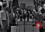 Image of Actor Ossie Davis introducing Burt Lancaster Washington DC, 1963, second 6 stock footage video 65675029518
