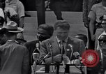 Image of Actor Ossie Davis introducing Burt Lancaster Washington DC, 1963, second 12 stock footage video 65675029518