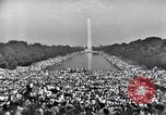Image of Invocation Washington DC, 1963, second 2 stock footage video 65675029520