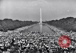 Image of Invocation Washington DC, 1963, second 4 stock footage video 65675029520