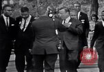 Image of Martin Luther King with Civil Rights leaders Washington DC USA, 1963, second 3 stock footage video 65675029521