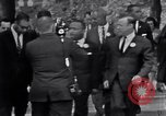 Image of Martin Luther King with Civil Rights leaders Washington DC USA, 1963, second 6 stock footage video 65675029521