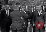 Image of Martin Luther King with Civil Rights leaders Washington DC USA, 1963, second 7 stock footage video 65675029521