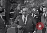 Image of Martin Luther King Jr with Civil Rights leaders Washington DC USA, 1963, second 10 stock footage video 65675029521