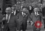 Image of Martin Luther King with Civil Rights leaders Washington DC USA, 1963, second 11 stock footage video 65675029521