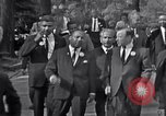 Image of Martin Luther King with Civil Rights leaders Washington DC USA, 1963, second 12 stock footage video 65675029521