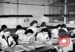 Image of Disabled American workers volunteer during World War 2 labor shortage Dayton Ohio USA, 1943, second 2 stock footage video 65675029531
