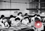 Image of Disabled American workers volunteer during World War 2 labor shortage Dayton Ohio USA, 1943, second 4 stock footage video 65675029531