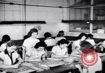 Image of Disabled American workers volunteer during World War 2 labor shortage Dayton Ohio USA, 1943, second 5 stock footage video 65675029531