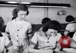 Image of Disabled American workers volunteer during World War 2 labor shortage Dayton Ohio USA, 1943, second 6 stock footage video 65675029531