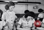 Image of Disabled American workers volunteer during World War 2 labor shortage Dayton Ohio USA, 1943, second 7 stock footage video 65675029531