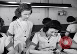 Image of Disabled American workers volunteer during World War 2 labor shortage Dayton Ohio USA, 1943, second 8 stock footage video 65675029531